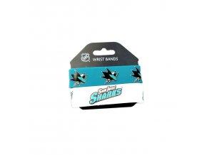 Silikonový náramok - San Jose Sharks - 2 kusy