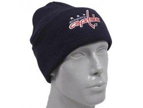 NHL Zimná čiapka Washington Capitals Basic Logo Cuffed - Detská