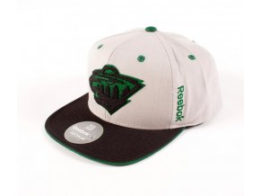 Šiltovka Minnesota Wild Center Ice Snapback