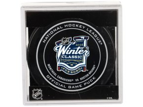 Puk NHL Winter Classic 2016 - Bruins vs. Canadiens - Official Game Puck