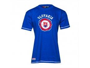 Detské tričko SLOVAKIA STAMP ROYAL BLUE