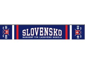 Hokejový šál SLOVENSKO 1929 pletený