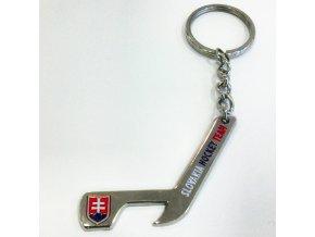 Kľúčenka s otvárakom v tvare hokejky