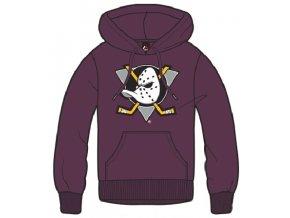 Detská mikina Anaheim Ducks Majestic Ning Hoody