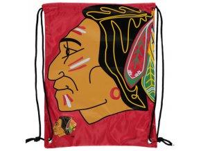 NHL športový vak Chicago Blackhawks Big Logo Red