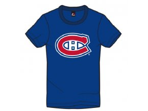 Detské Tričko Montreal Canadiens Majestic Rotal Logo Tee