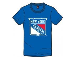 Detské Tričko New York Rangers Majestic Rotal Logo Tee