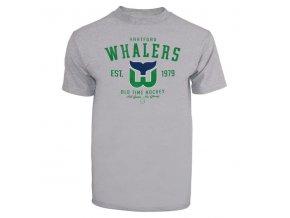 Tričko Hartford Whalers Arch Logo