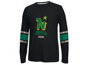 Tričko Minnesota North Stars CCM Long Sleeve Crew