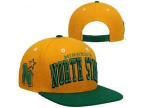 Šiltovka Minnesota North Stars Super Star Snapback - žltá