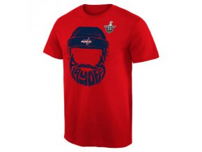 Tričko Washington Capitals 2016 Stanley Cup Playoffs Bearded