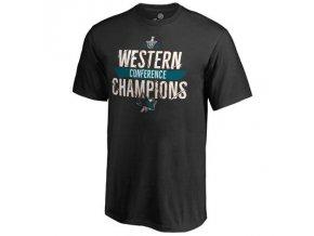 Tričko San Jose Sharks 2016 Western Conference Champions