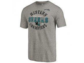 Tričko San Jose Sharks 2016 Western Conference Champions Triblend