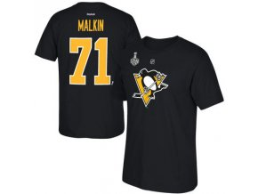 Tričko #71 Evgeni Malkin Pittsburgh Penguins 2016 Stanley Cup Final