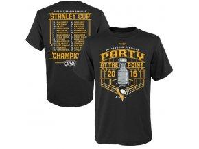 Detské Tričko Pittsburgh Penguins 2016 Stanley Cup Champions Celebration Roster
