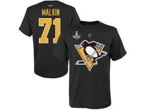 Detské tričko Pittsburgh Penguins 2016 Stanley Cup Champions Evgeni Malkin