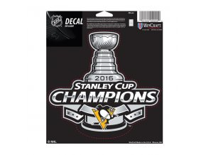 Samolepka Pittsburgh Penguins 2016 Stanley Cup Champions