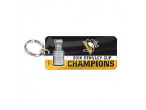 Prívesok Pittsburgh Penguins 2016 Stanley Cup Champions Glossy