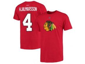 Tričko #4 Niklas Hjalmarsson Chicago Blackhawks