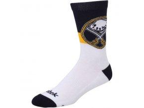 Ponožky Buffalo Sabres Team Color Socks (Velikost L, Distribuce USA)