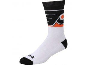 Ponožky Philadelphia Flyers Team Color Socks (Velikost L, Distribuce USA)