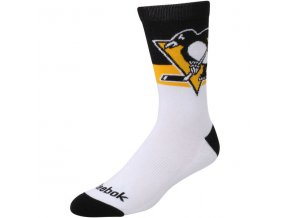 Ponožky Pittsburgh Penguins Team Color Socks (Velikost L, Distribuce USA)