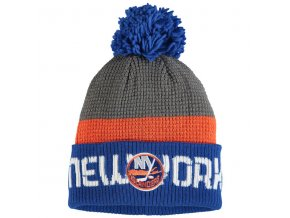Zimná Čiapka New York Islanders CI Pom Knit (Distribuce USA)