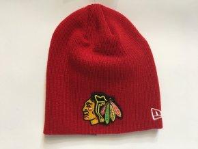 Detská Zimná Čiapka Chicago Blackhawks New Era Skull Knit