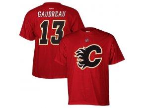 Tričko #13 Johnny Gaudreau Calgary Flames