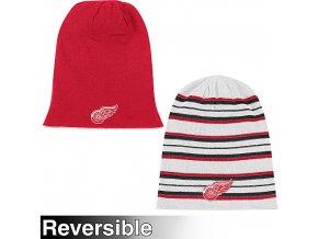 Zimná čiapka - Faceoff Long - Detroit Red Wings