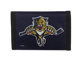peňaženka - Nylon Trifold - Florida Panthers