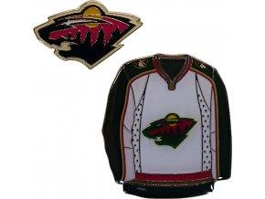 Odznak - Minnesota Wild - 2 kusy