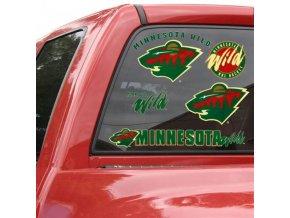 Samolepky - Minnesota Wild