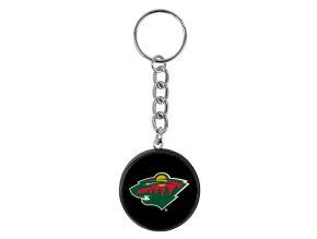 NHL Prívesok na kľúče - Minnesota Wild - minipuk