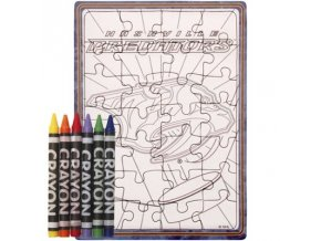 Nashville Predators puzzle s vlastným vyfarbením