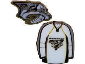 Odznak - Nashville Predators - 2 kusy