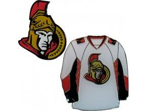 Odznak - Ottawa Senators - 2 kusy