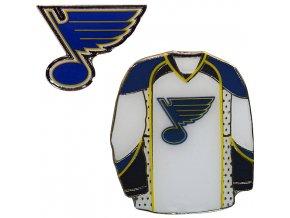 Odznak - St. Louis Blues - 2 kusy