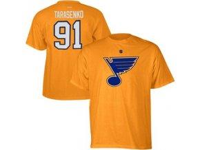 Tričko -# 91 Vladimir Tarasenko St. Louis Blues - žlté