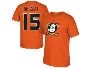 Tričko #15 Ryan Getzlaf Anaheim Ducks Orange