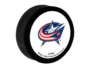 Penový puk Columbus Blue Jackets Sher-Wood