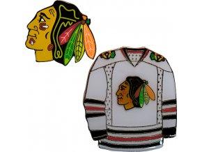 Odznak - Chicago Blackhawks - 2 kusy