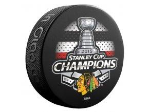 Puk Chicago Blackhawks 2015 Stanley Cup Champions