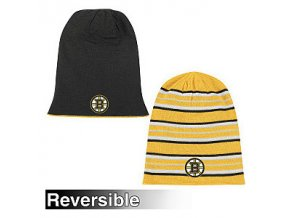 Reebok boston bruins Faceoff Long Reversible Knit Hat