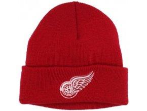 NHL Zimná čiapka Detroit Red Wings Basic Logo Cuffed - Detská