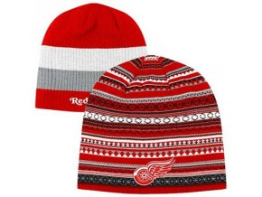 NHL Zimná čiapka Detroit Red Wings Faceoff Reversible