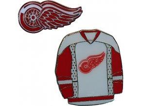 Odznak - Detroit Red Wings - 2 kusy