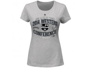 Dámske tričko Los Angeles Kings 2014 Western Conference Champions Five Hole