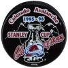 Puk Colorado Avalanche 1996 Stanley Cup Champions