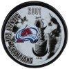 Puk Colorado Avalanche 2001 Stanley Cup Champions